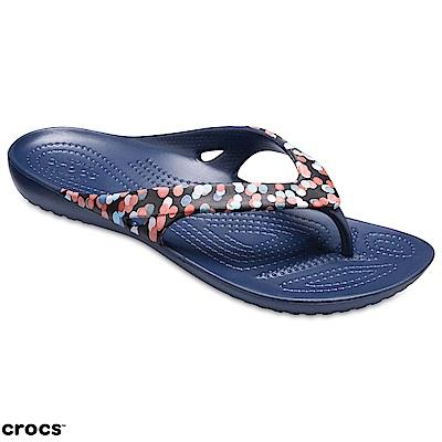 Crocs 卡駱馳 (女鞋) 卡笛人字拖 204231-93D