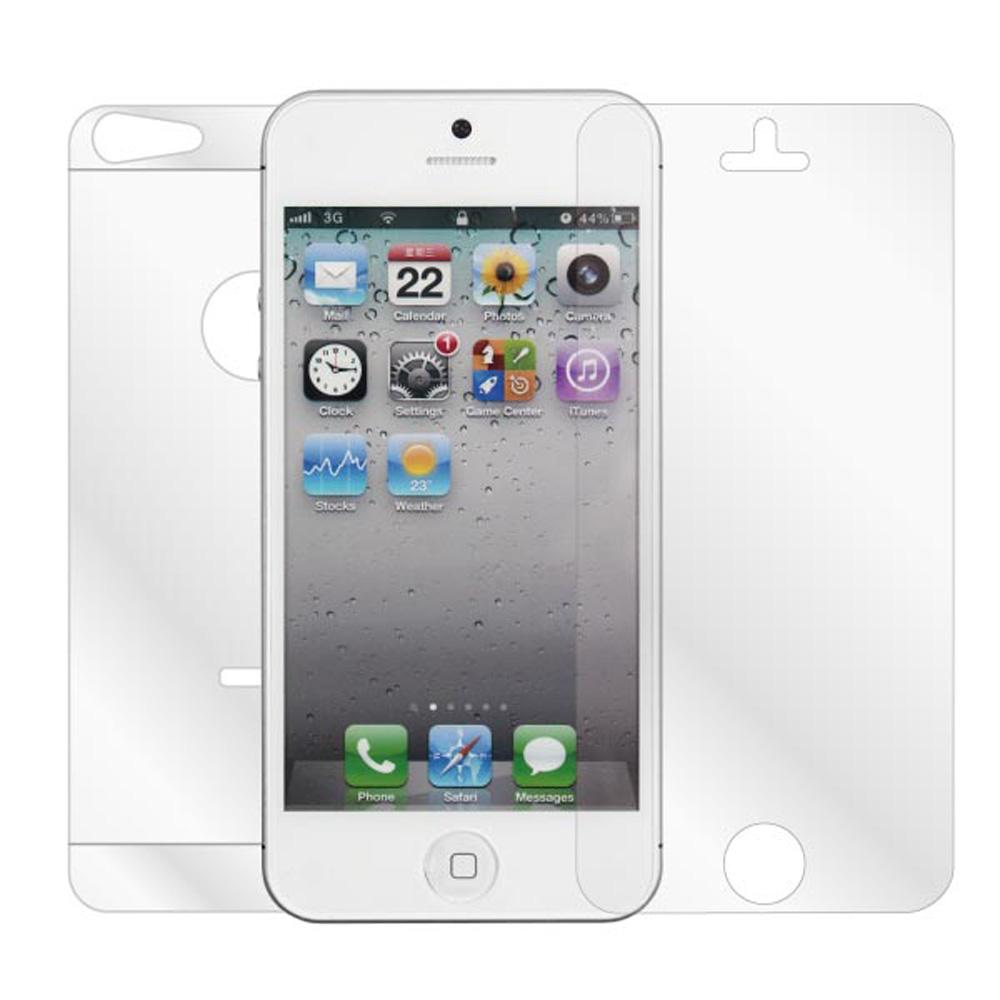 ZIYA Apple IPHONE 5/5S/SE 抗反射(霧面/防指紋)螢幕機身保護貼