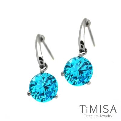 TiMISA 花妍朵朵(5色) 純鈦耳環一對