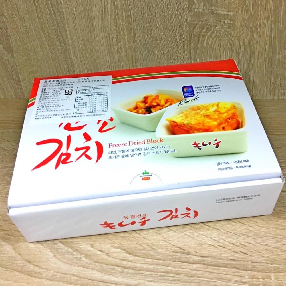 韓國 乾燥泡菜(10g*8包)