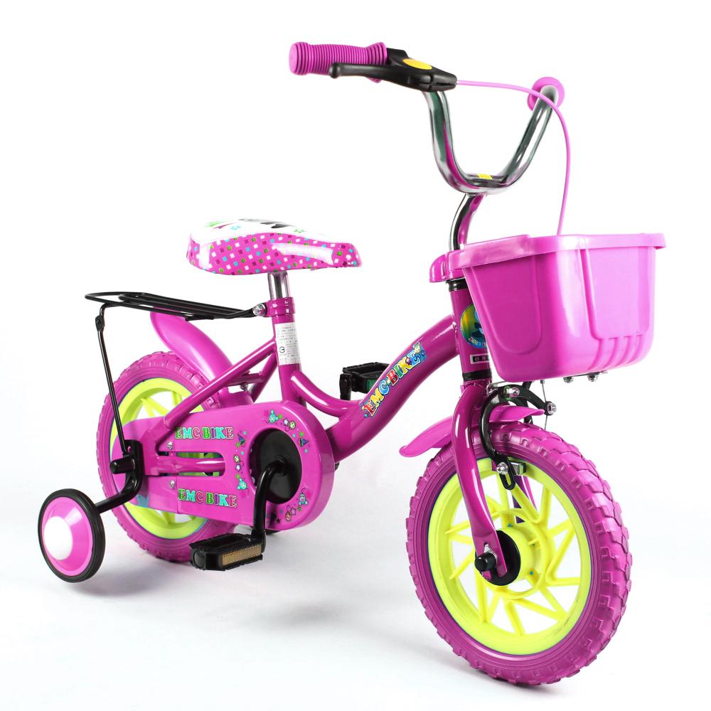 EMC 12吋追風腳踏車 (粉紅色)
