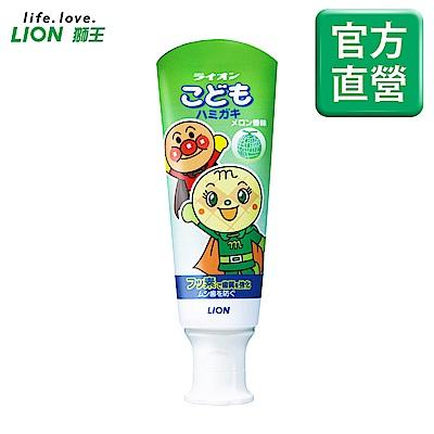 日本獅王LION 麵包超人牙膏 哈密瓜 40g