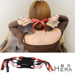 Hera 蝴蝶結飄帶丸子頭盤髮棒/盤髮器(四色)