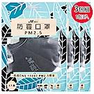 淨舒式 防霾口罩PM2.5 (3包組一包3入)(黑)