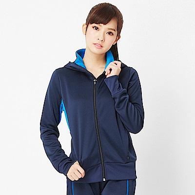 【TOP GIRL】連帽針織外套-丈青