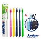 Jordan清新酷炫牙刷6入組(軟毛)