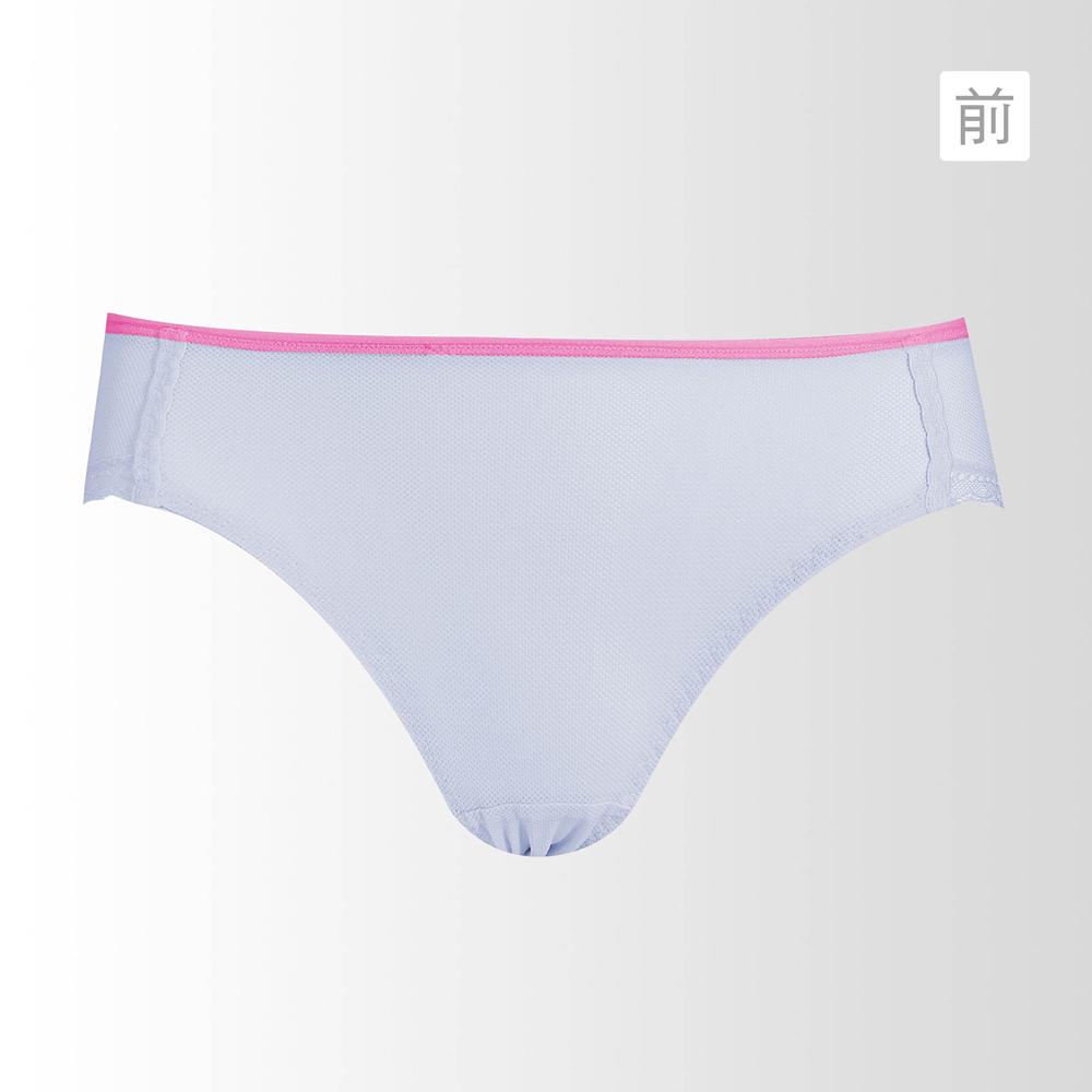蕾黛絲-動氧Bra-低腰內褲 M-EL(氣質灰)