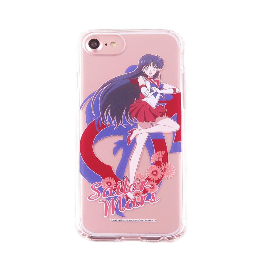 美少女戰士 iPhone 6s/7/8(4.7吋)共用 雙料保護殼套_火星仙子
