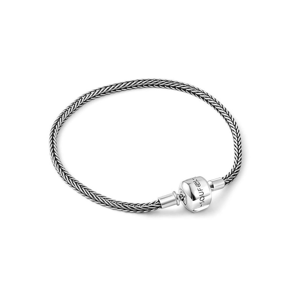SOUFEEL索菲爾 925純銀珠飾 基礎手鍊 編織款