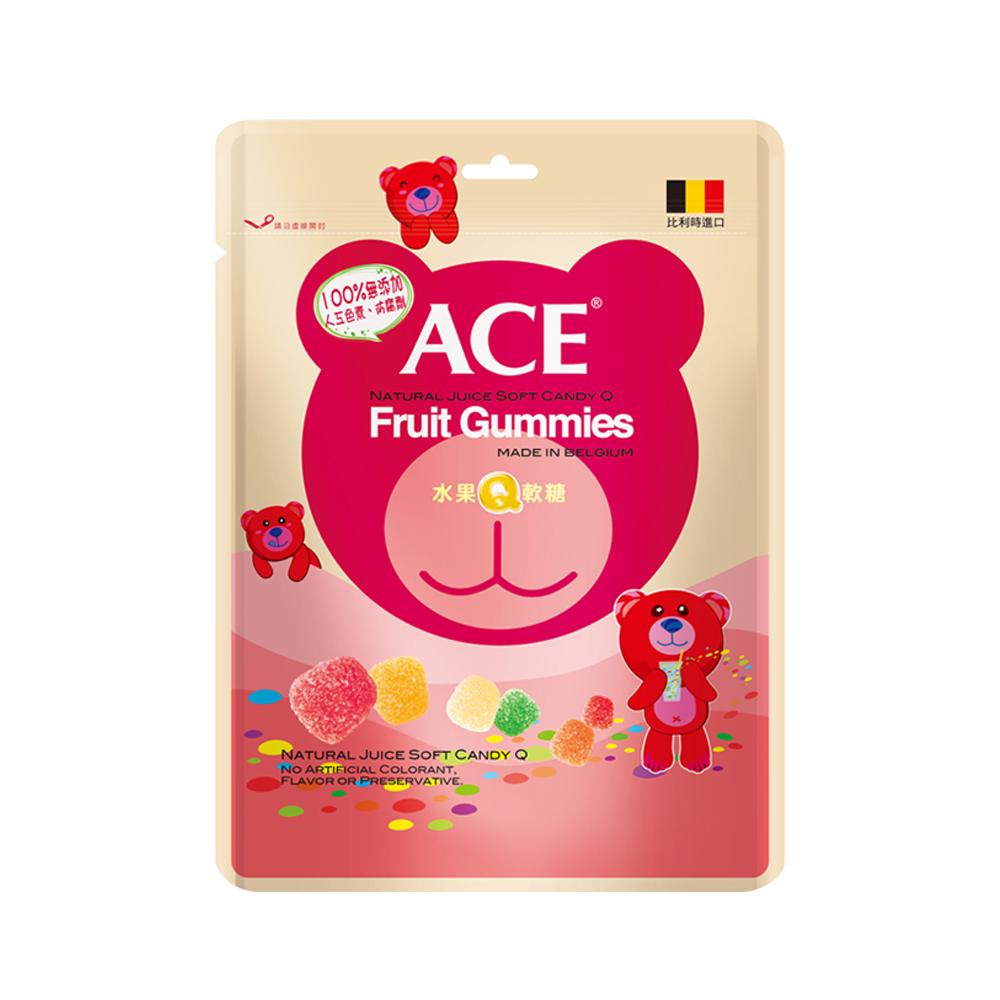 【ACE 】水果Q軟糖3入組(240g/包)