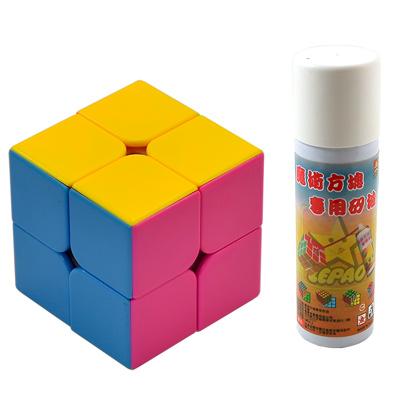 《專業競技版》2X2面魔術方塊(贈專用矽油及破解公式)