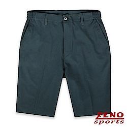 ZENO 萊卡彈性透氣機能短褲‧灰色M-3XL