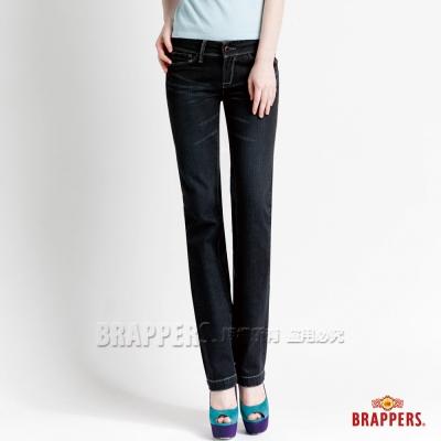 BRAPPERS 女款 新美腳二代系列-女用直統褲-黑