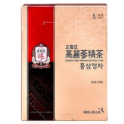 正官庄 高麗蔘精茶(50包/盒)加贈活蔘28D PLUS*5入