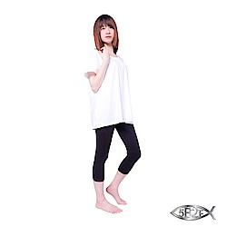 5B2F 五餅二魚 優質棉選 素面七分褲