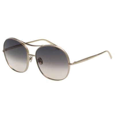 CHLOE太陽眼鏡 復古雷朋款-金色框 CE128S-744