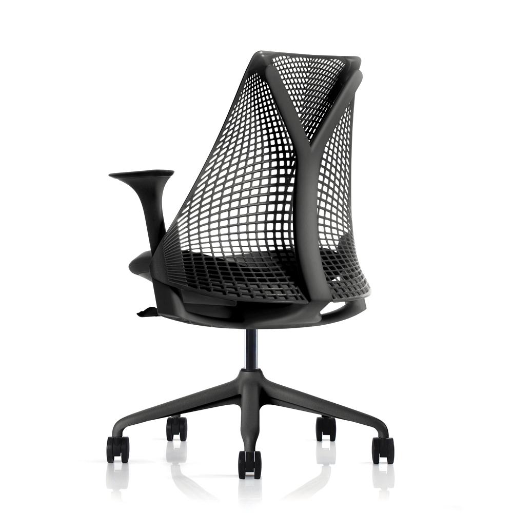 Herman Miller SAYL 全功能環保平價人體工學電腦椅-黑