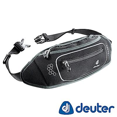 【ATUNAS 歐都納】德國DEUTER休閒旅遊防竊/慢跑隨身貼身輕量腰包39050黑