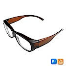Lafan騎士偏光眼鏡 超輕量藍光眼鏡(抗UV400/套鏡)