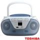 【TOSHIBA】手提CD/USB音響 TY-CRU8TW 藍色