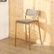 BuyJM真空電鍍不鏽鋼玫瑰金高腳椅/吧檯椅/寬44x50x91公分-免組裝 product thumbnail 1