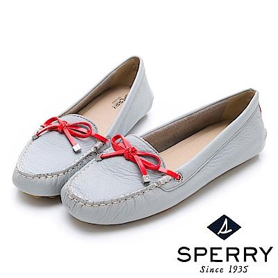 SPERRY 都會亮眼舒適牛皮開車鞋(女)-灰