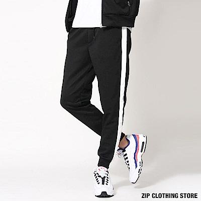 休閒運動縮口褲(6色) ZIP日本男裝