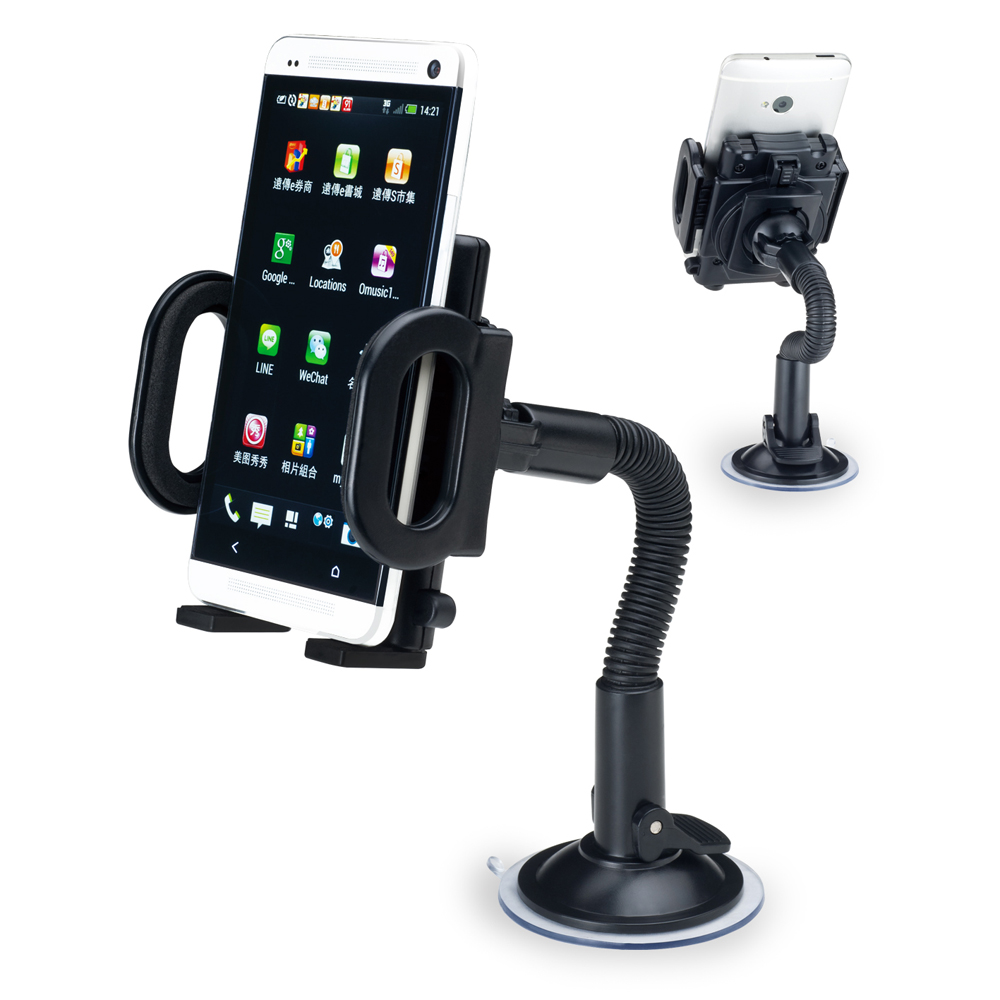 E-books N7 彎管式手機萬用車架