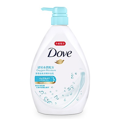 DOVE 多芬 滋養柔膚沐浴乳 清氧水潤配方 1000ML