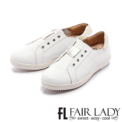 Fair Lady Soft Power 軟實力 時髦度滿載潮人最愛小白鞋 金