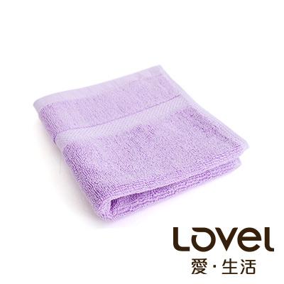 LOVEL 嚴選六星級飯店精選款-小方巾(薰紫)