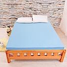 LooCa吸濕排汗七段式無重力乳膠床墊-加大6尺