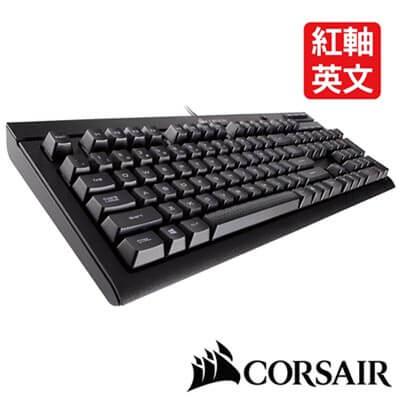 CORSAIR Gaming K66 機械電競鍵盤-紅軸英文