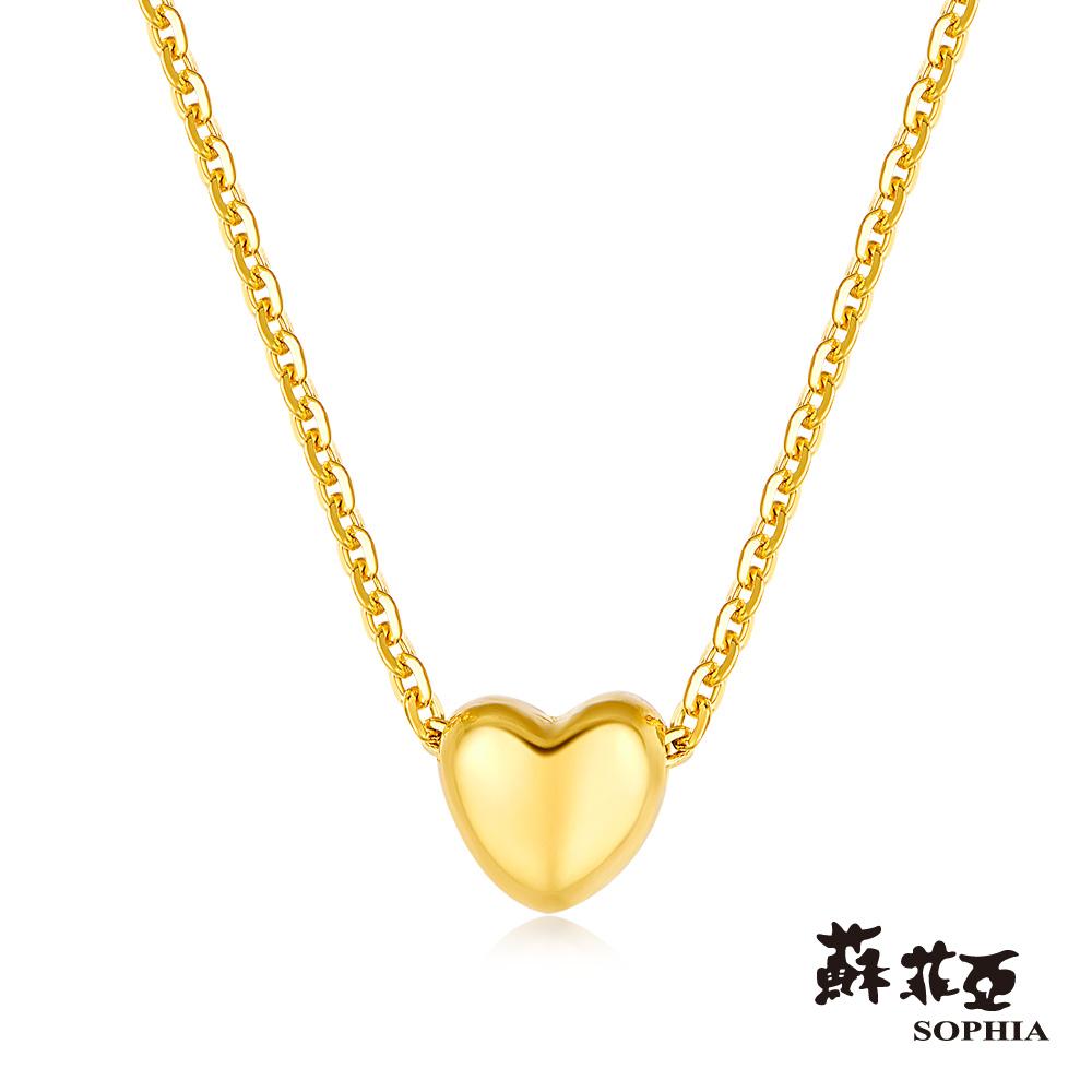 蘇菲亞SOPHIA G LOVER系列經典愛戀黃金套鍊