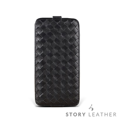 STORYLEATHER-HTC 10 / U11 PDA式下蓋編織紋 客製化皮...