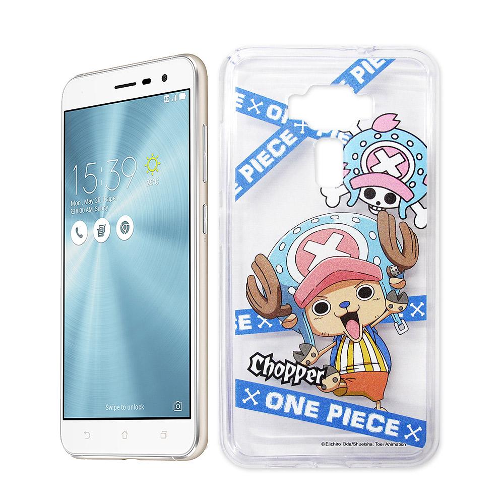 航海王 ASUS ZenFone 3 5.5吋 ZE552KL 透明軟式手機殼(封鎖喬巴)