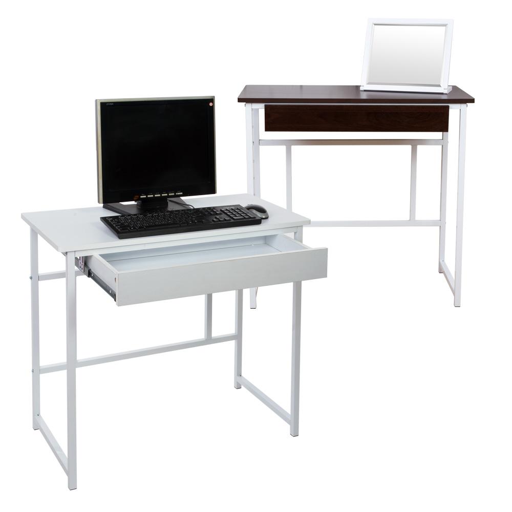 《BuyJM》熊本簡單抽屜工作桌/電腦桌-寬80公分 (2色)
