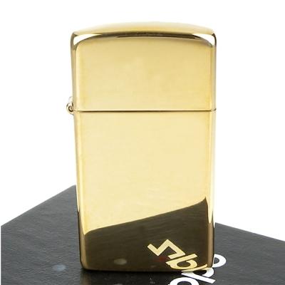 【ZIPPO】美系~Solid Brass~純銅高磨光金色鏡面打火機