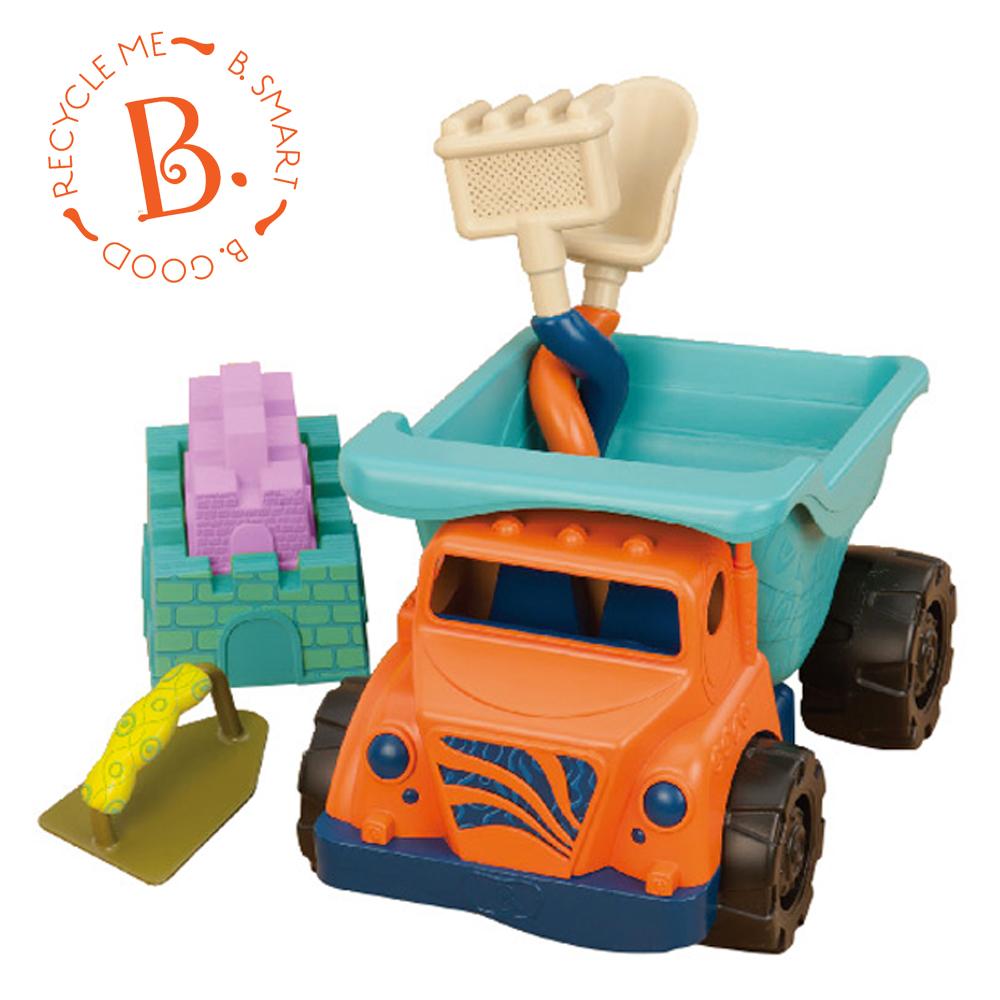 美國 【B.Toys】 沙子一卡車
