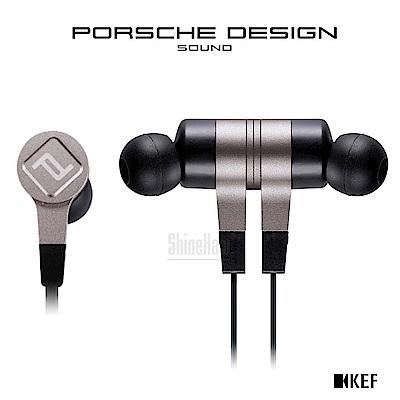 KEF PORSCHE DESIGN MOTION ONE 藍牙入耳式耳機 鈦銀色