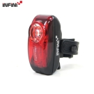 【INFINI】VISTA I-407R 紅光LED警示高亮度3模式後燈/台灣製-黑色
