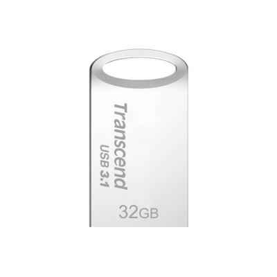 創見 32G JF710S USB3.1 隨身碟(冷調銀)