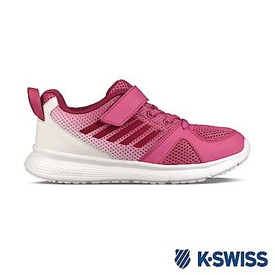 K-Swiss Bounce Lite VLC休閒運動鞋-童-粉紅/白