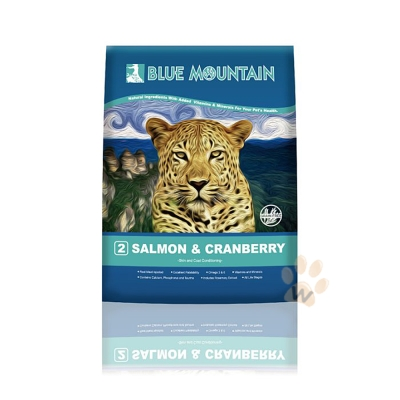 BlueMountain荒野藍山《鮭魚+蔓越莓》無穀貓糧5.5磅