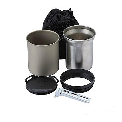 SOTO 鈦杯/不鏽鋼杯組SOD-520