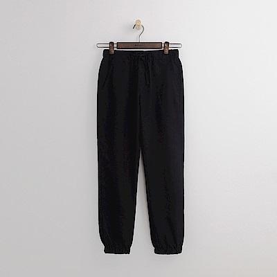 Hang Ten - 女裝 - 基本修身束口長褲-黑色
