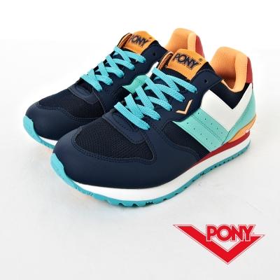 PONY-NCHASER系列-鮮活撞色設計慢跑鞋