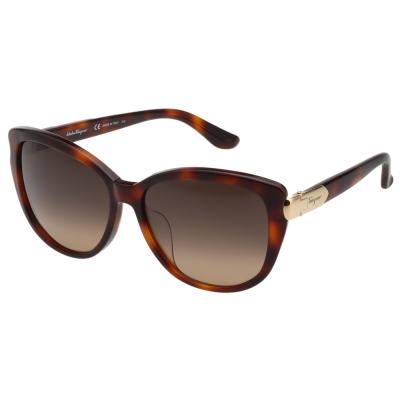 Salvatore Ferragamo 太陽眼鏡 (淺琥珀)SF797SA @ Y!購物