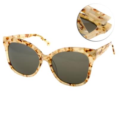 GENTLE MONSTER太陽眼鏡 貓眼款/碎花橙橘#LA ROUGE GD1