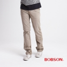 BOBSON 男款洗刷紋半舊直筒褲